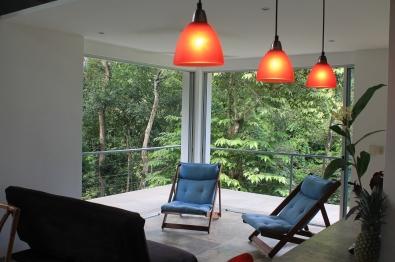 Jungle Loft Living Room