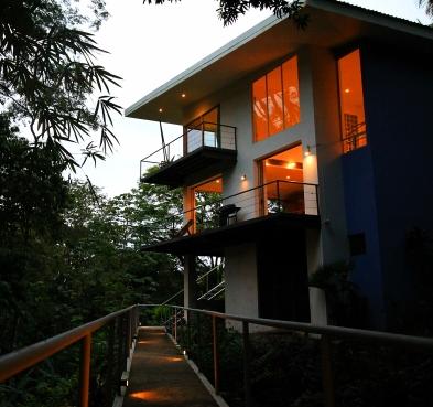 Jungle Loft at Dusk